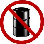 no oil sign