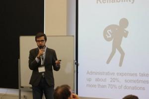 Презентация приложения  для сбора средств на благотворительность