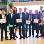 "Winners of the Program ""Start at Skolkovo""."