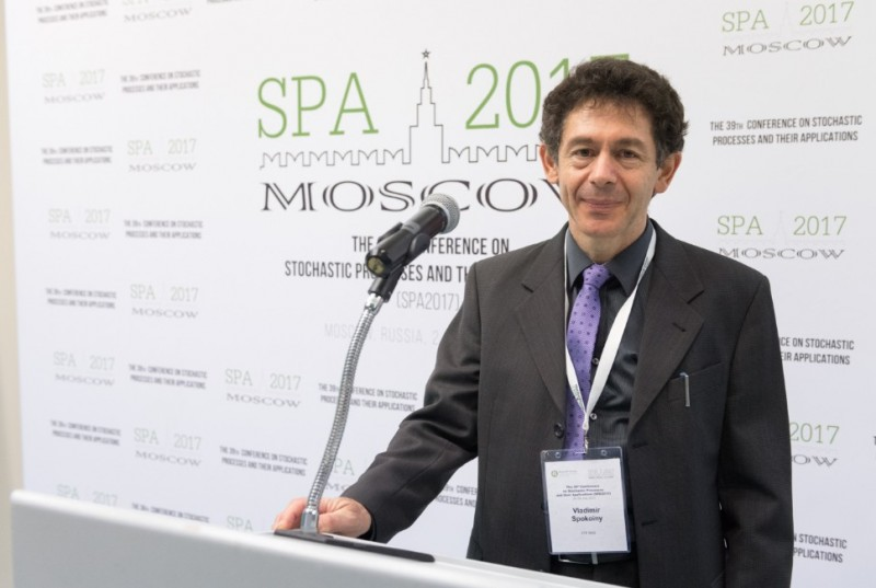 Владимир Спокойный, профессор Сколтеха, открыл конференцию SPA-2017, со-организатором которой он является