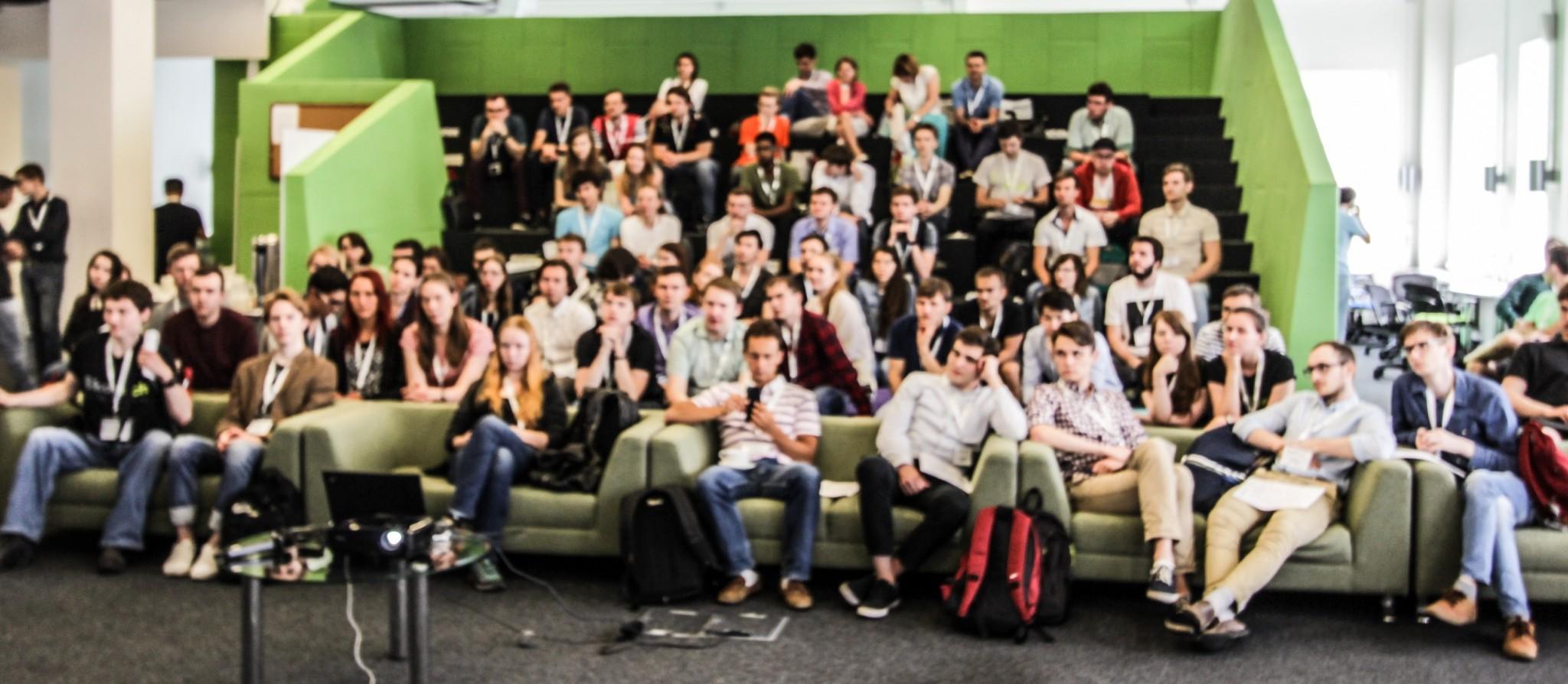 MSc hopefuls gather in Skoltech's student cohort. Photo: Skoltech.