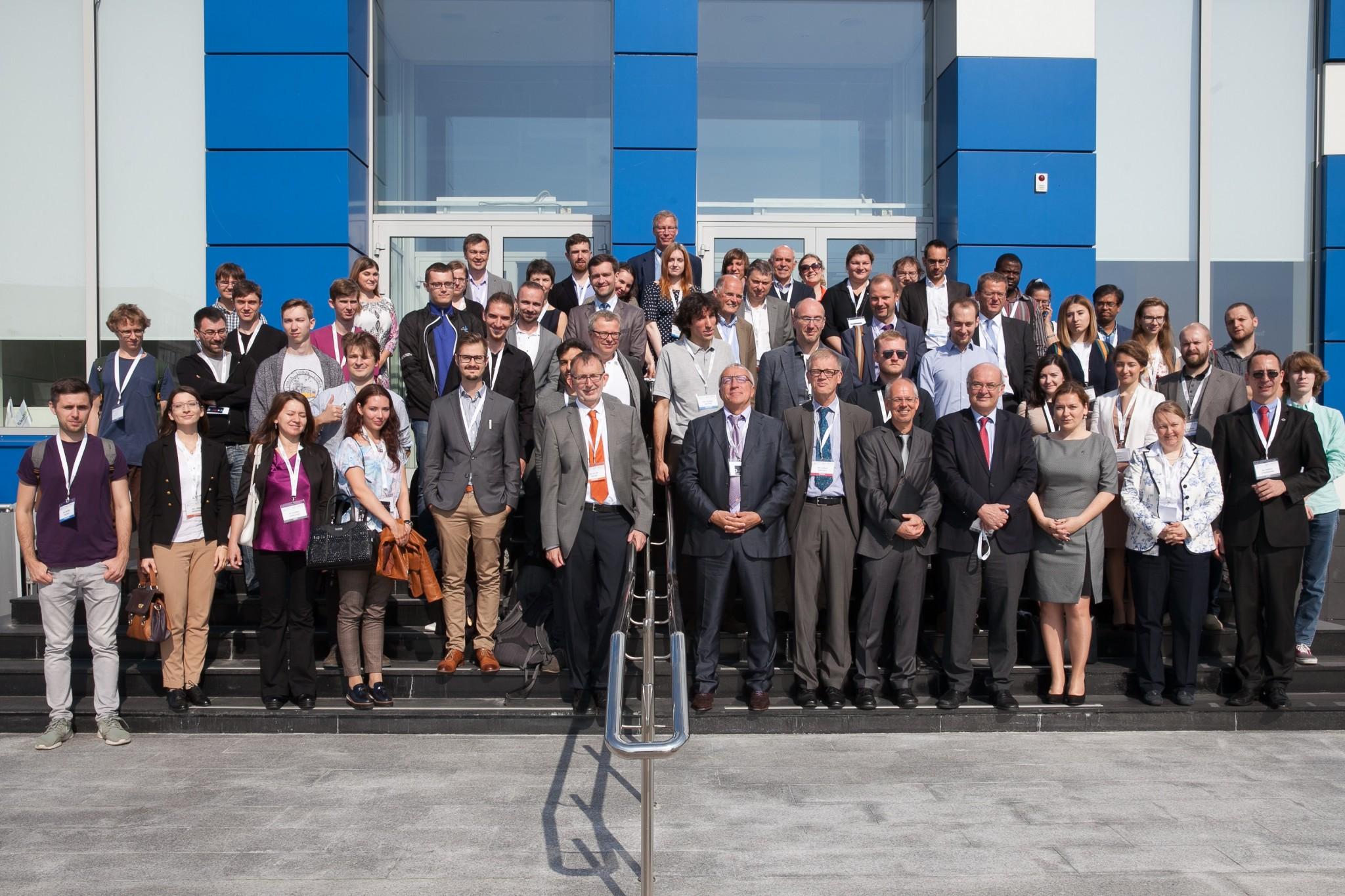 The participants of this year's German-Russian Week of the Young Researcher. Photo: DFG.