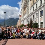 Участники конференции Gen-Y в поселке Роза Хутор. Фото: Сколтех