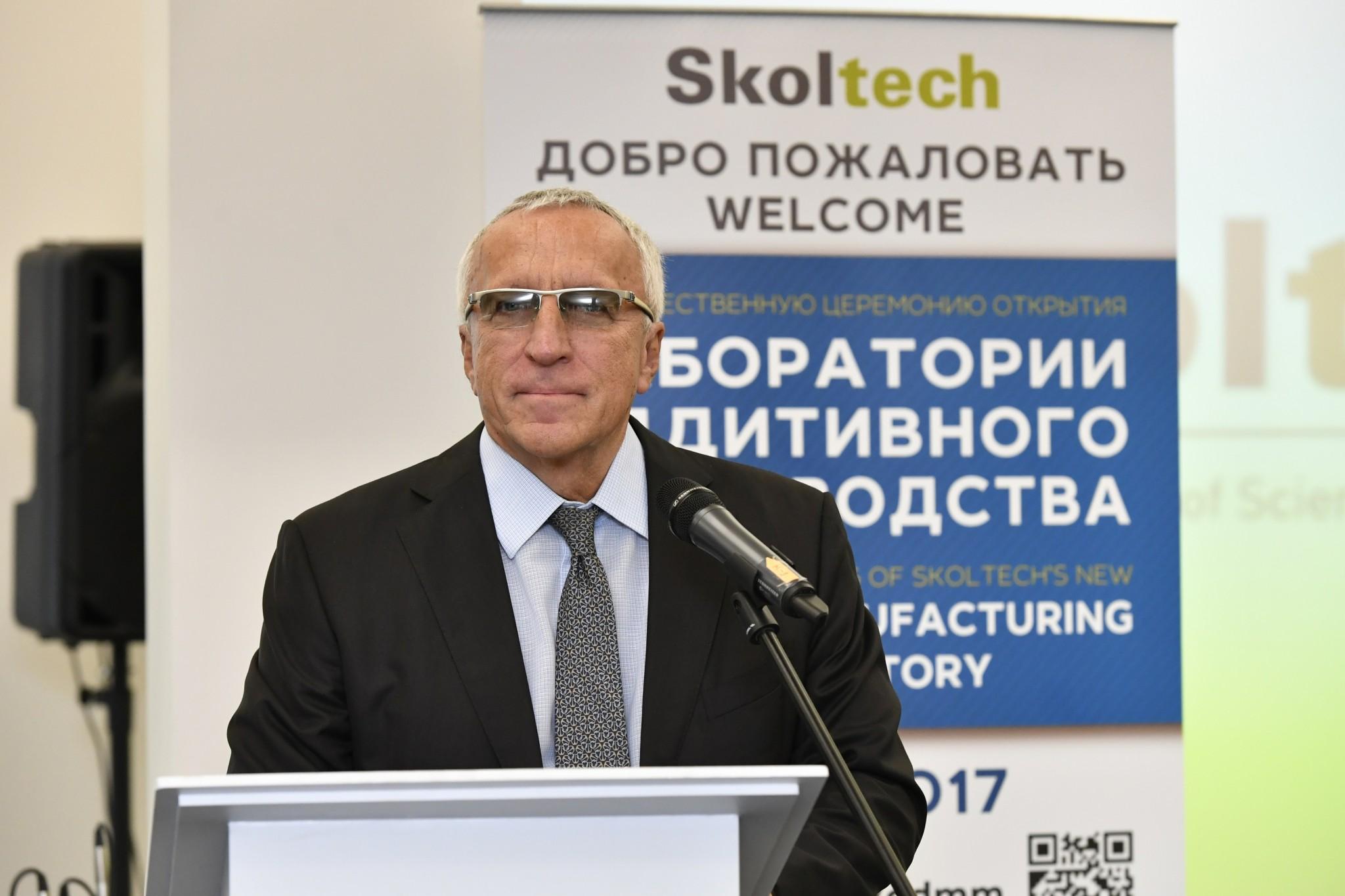 Skoltech President Alexander Kuleshov. Photo: Skoltech.