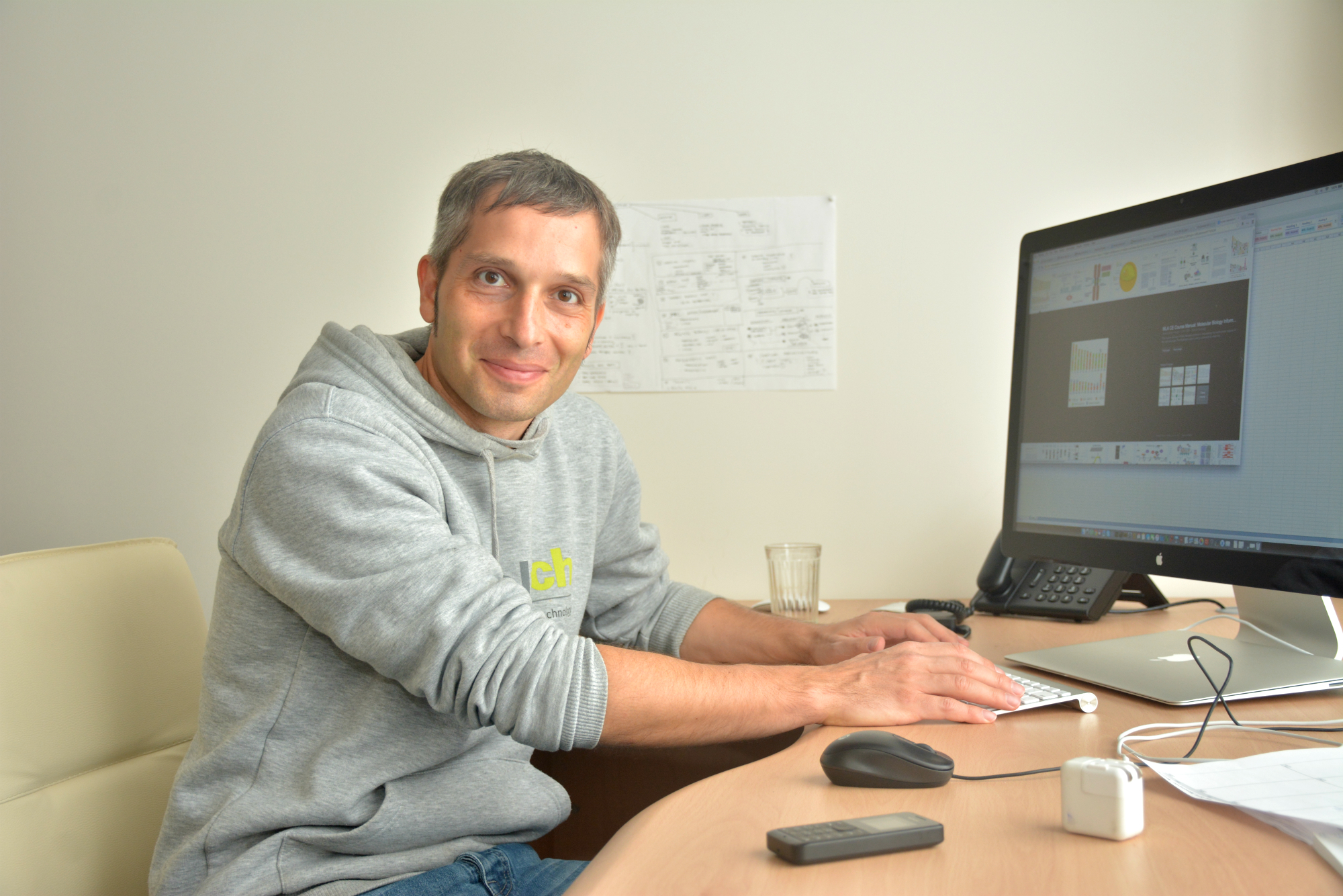 Skoltech Professor Philipp Khaitovich. Photo: Skoltech.