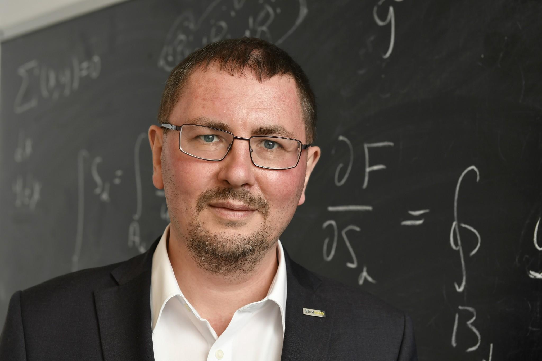 Skoltech Professor Maxim Fedorov. Photo: Skoltech.