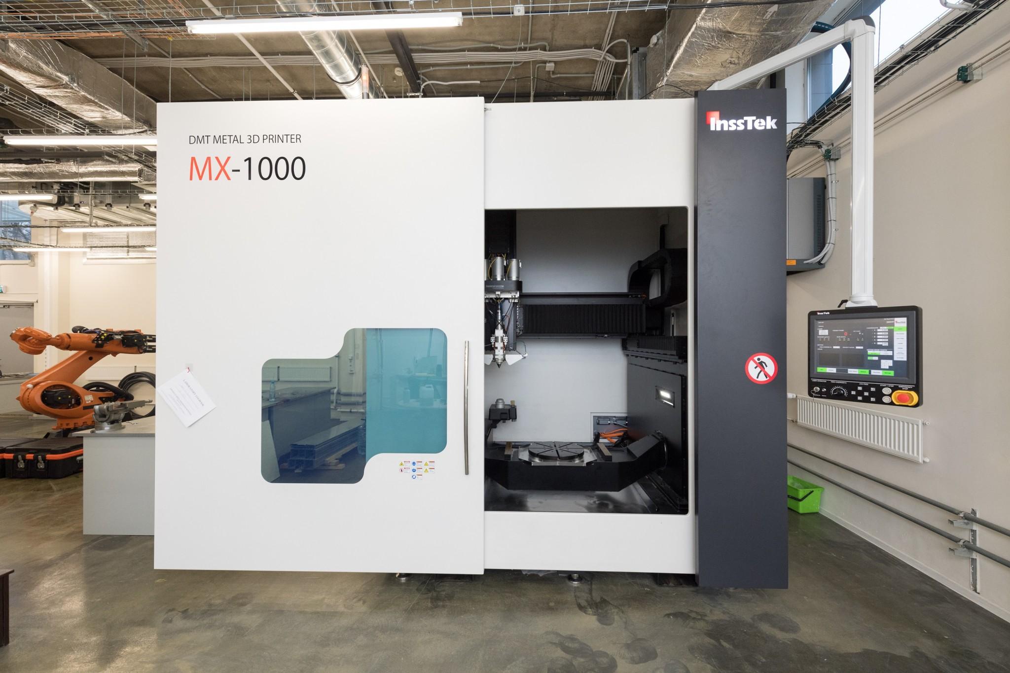 The Insstek MX-1000, the largest 3D printer in Russia. Photo: Skoltech.