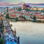 The Czech capital, where Skoltech PhD student Artyom Nikitin competed against other young IT specialists for cybersecurity glory. Photo: Public domain.