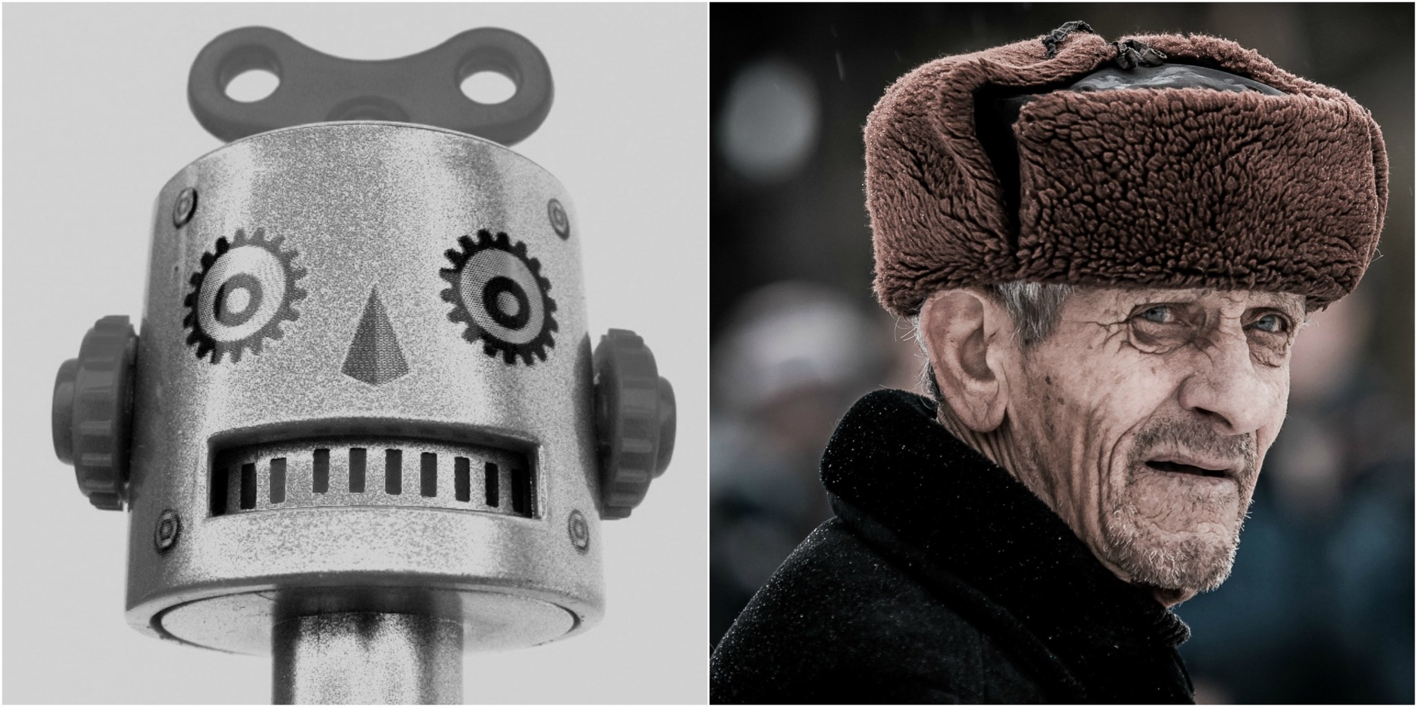 Robots could revolutionize the world of eldercare. Photos: Public domain.