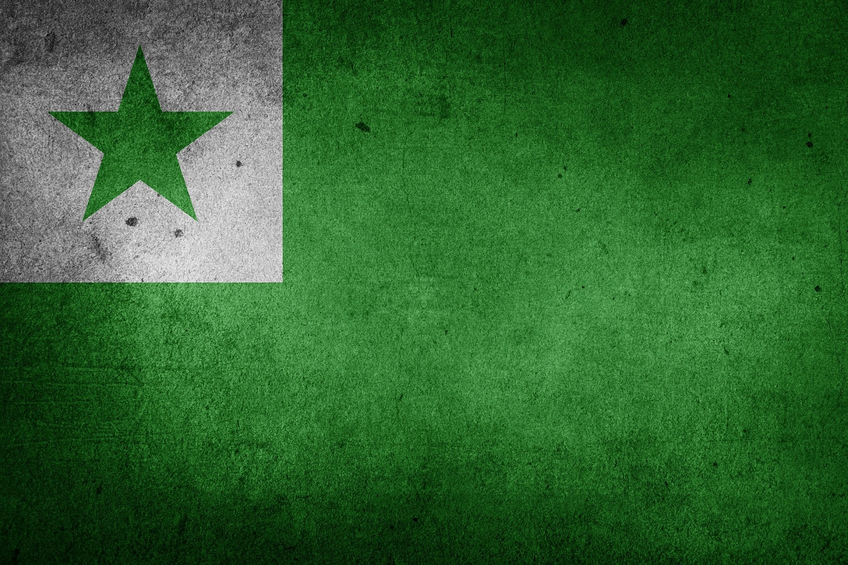 The Esperanto flag. Photo: Pixabay.