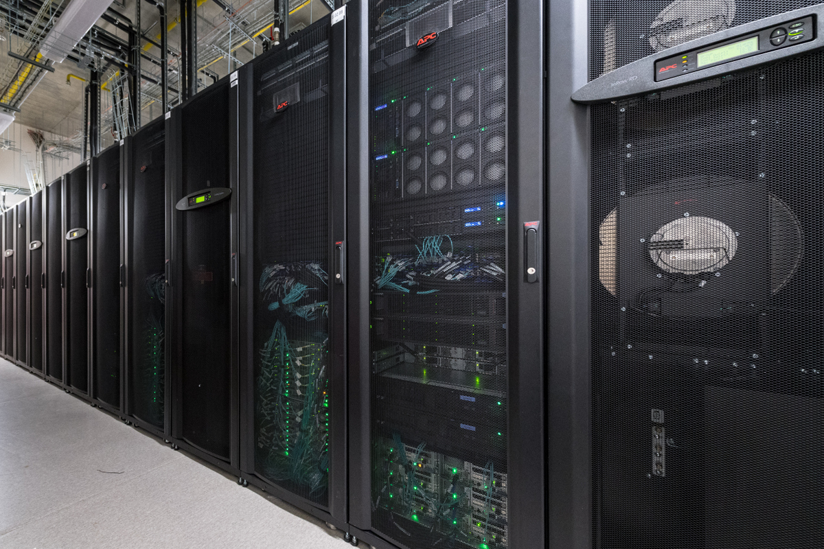 After its upgrade this year, Skoltech's supercomputer facility (above) will have increased its capacity tenfold. Photo: Sk.ru.