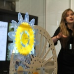 "Art and Science: Anna Dubovik presenting her final project ""Life Clock"""