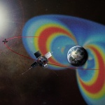 A new method developed by Skoltech, MIT and UCLA researchers allows to restore the current state of the radiation belts in the Earth's Magnetosphere. Image courtesy: NASA
