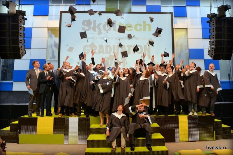 Skoltech's graduating Class of 2015