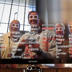 Face recognition and gaze correction are growing fields in IT. Image courtesy of Fraunhofer Face Finder, Flickr