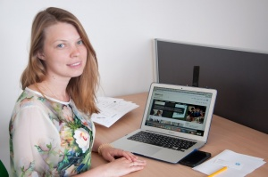 Biomed PhD student Vita Stepanova, is co-founder of blastim.ru