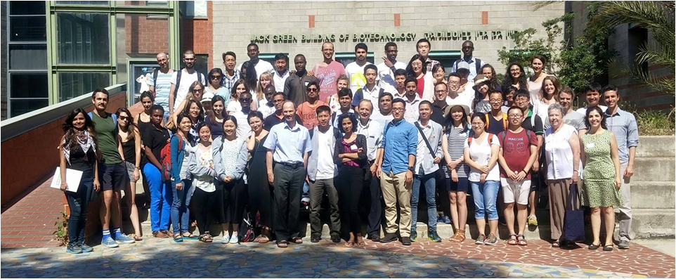 Group photo of the 2016 food safety and security summer school participants