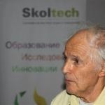 Нобелевский лауреат сэр Гарольд Крото прочитал лекцию в Сколтехе о вызовах современного высшего образования. Фото Sk.ru