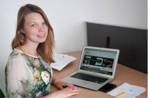 Вита Степанова – аспирантка ЦНИО Системной биомедицины и биотехнологии Сколтеха (фото: Анна Шиманская)