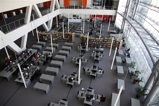 Библиотека ДВФУ на острове Русский. Фото Sk.ru