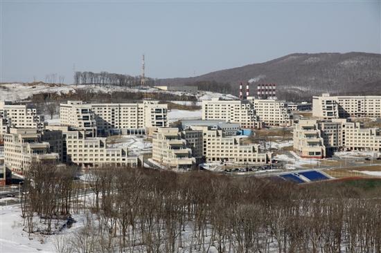 Кампус ДВФУ. Фото Sk.ru