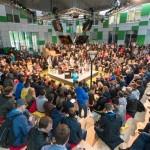 Открытие конференции Роботикс в Сколково