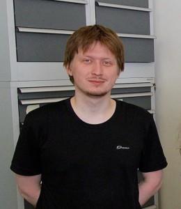 Аспирант Артём Павлов