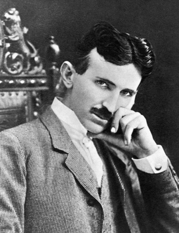 Nikola Tesla. Photo: public domain.