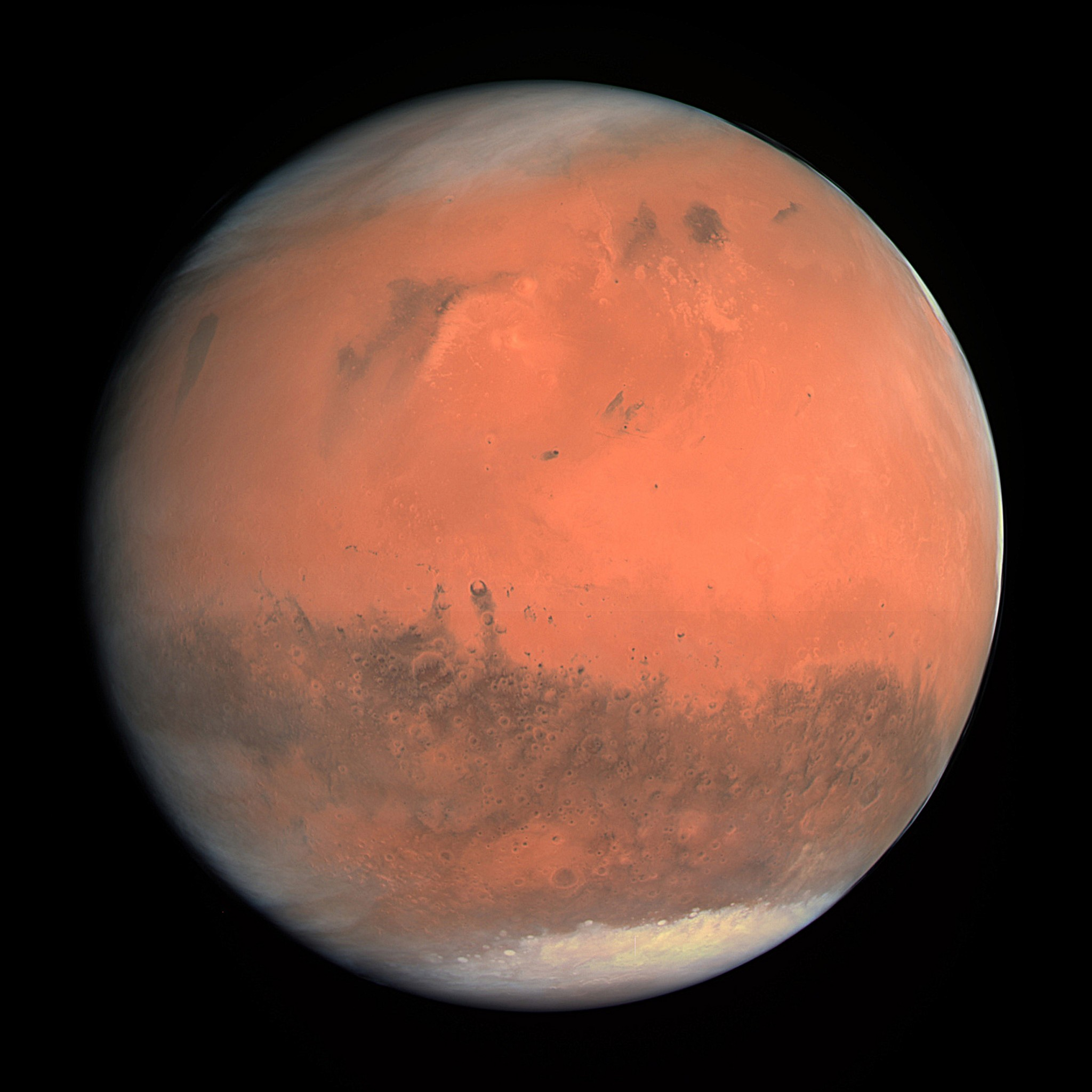 Experts predict that the first manned mission will be sent to Mars within the next couple of decades. Photo: ESA - European Space Agency & Max-Planck Institute // Wikimedia Commons.