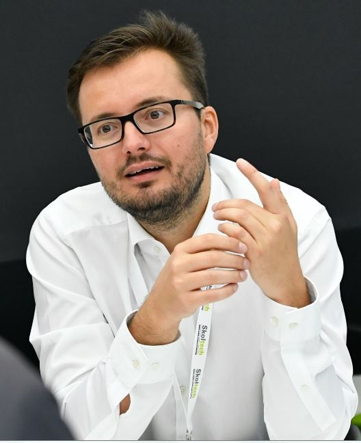 Professor Zeljko Tekic. Photo: Skoltech.