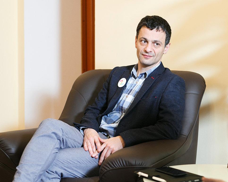 Профессор Артем Оганов. Фото: Сколтех.