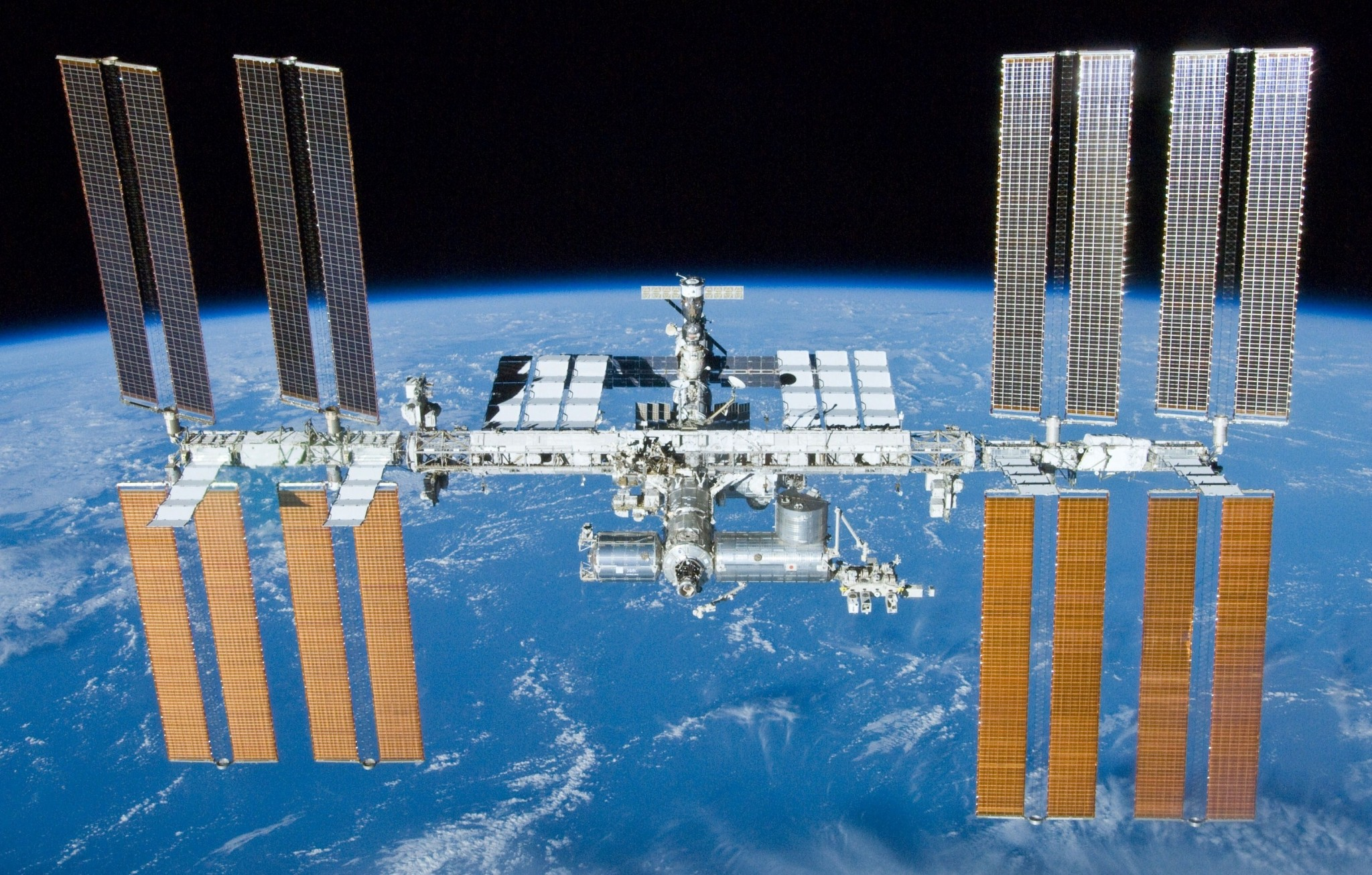 The ISS, where Revin spent four months in 2012. Photo: NASA.