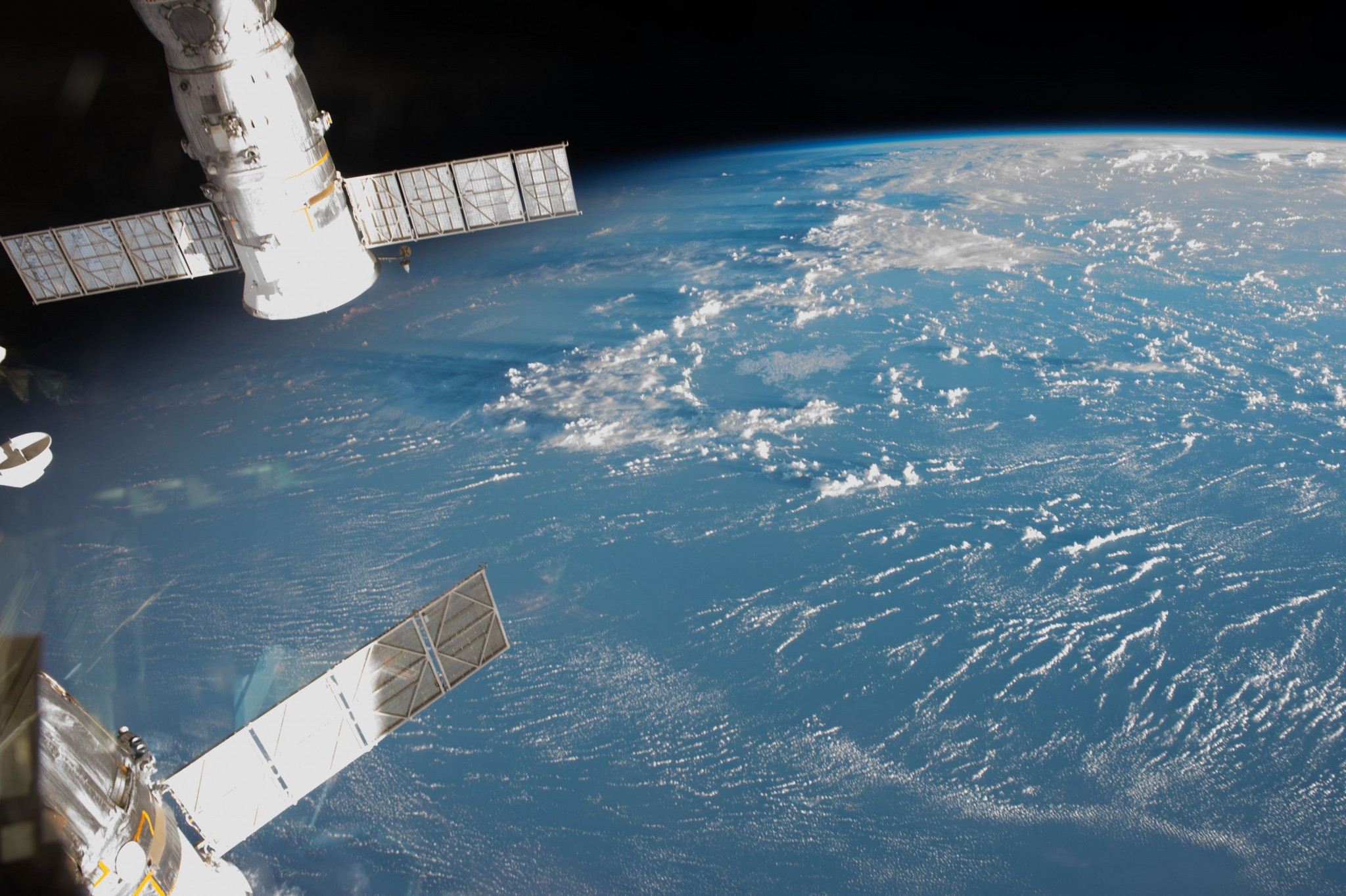 Earth, as seen from the ISS. Photo: NASA.