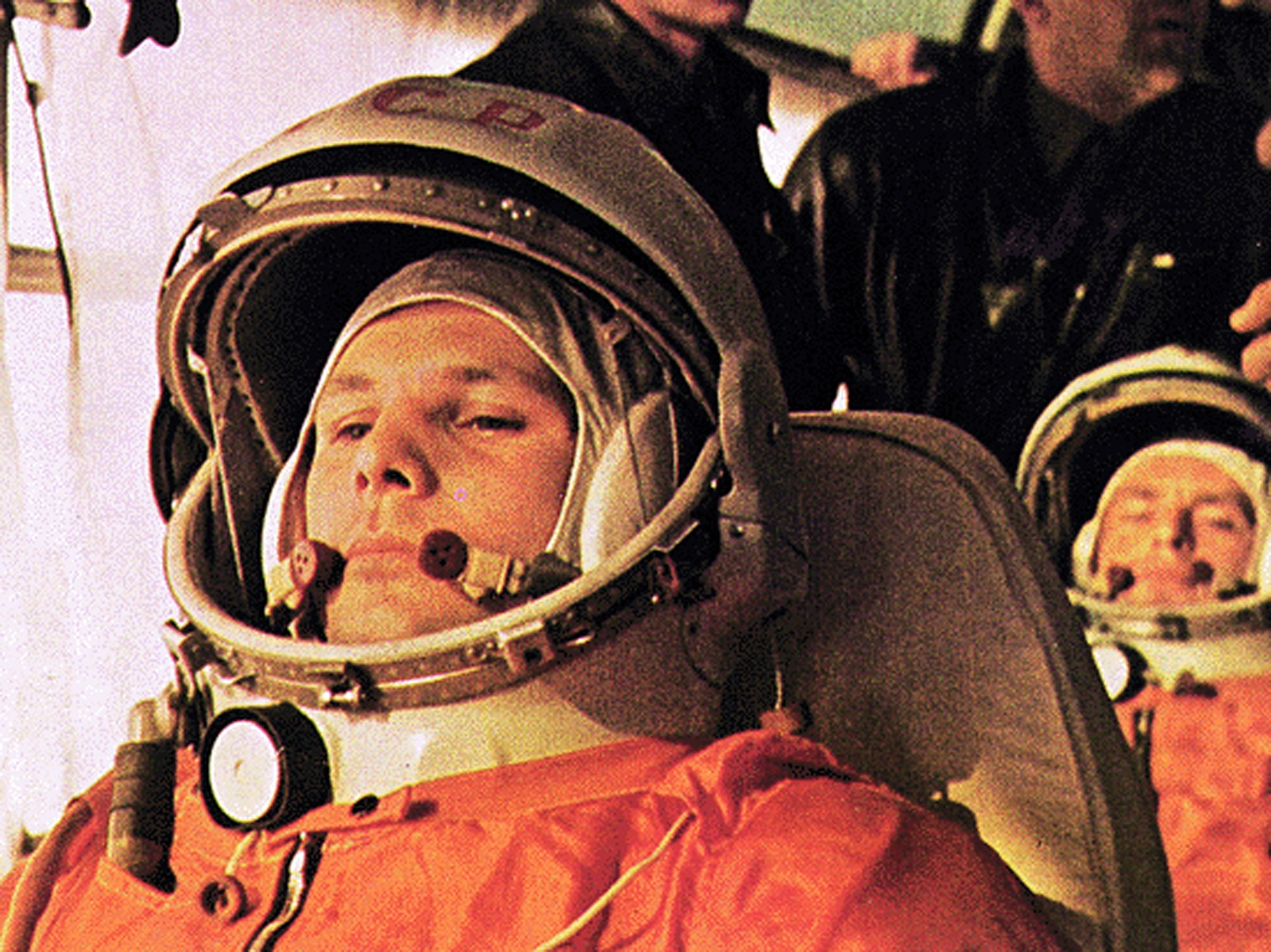 As a boy, Favier was inspired by Soviet cosmonaut Yuri Gagarin. Photo: NASA.