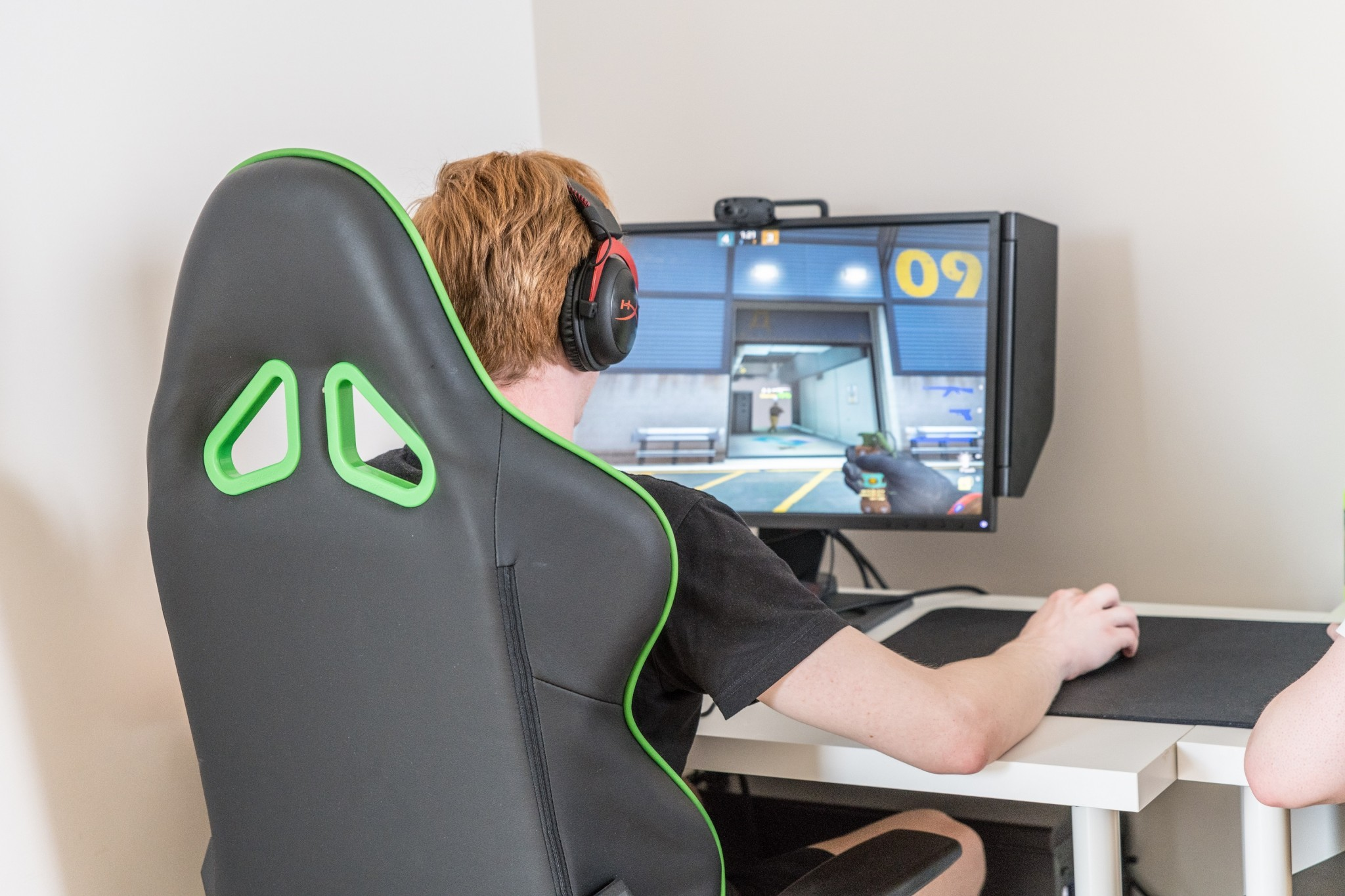 A Monolith player in action. Photo: Skoltech.