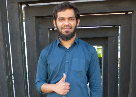 A second-year master's student, Tanvir Ahmed from Bangladesh believes the Innovation Workshop provides many opportunities for students to learn.