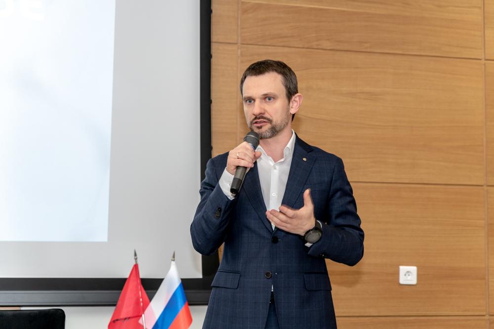 Павел Трехлеб. Фото: Тимур Сабиров / Сколтех