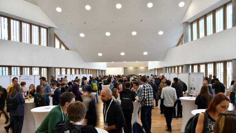 The joint Skoltech-MIT conference in October was the first major event held on the new campus.   Photo by Timur Sabirov / Skoltech