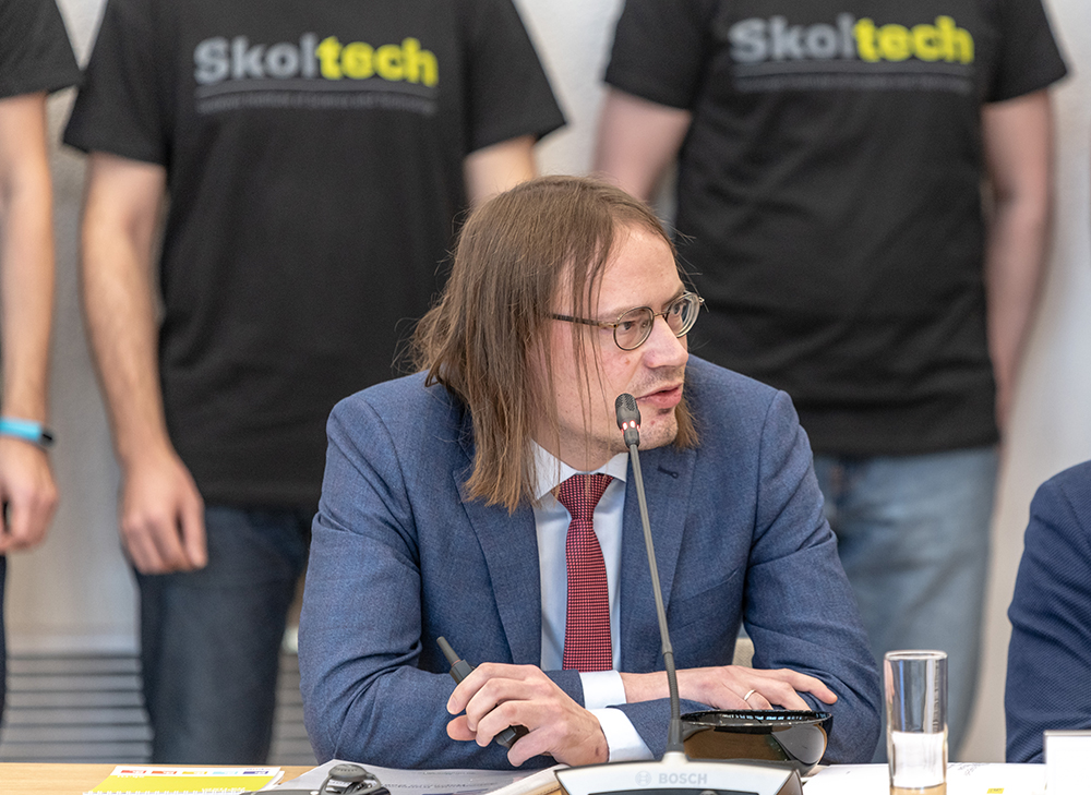 Сергей Рыкованов. Фото: Тимур Сабиров / Сколтех