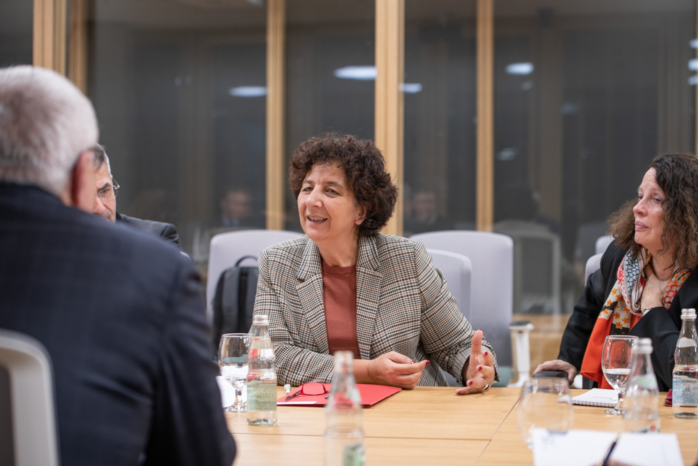France's Minister of Higher Education, Research and Innovation, Frédérique Vidal. Photo by Timur Sabirov / Skoltech