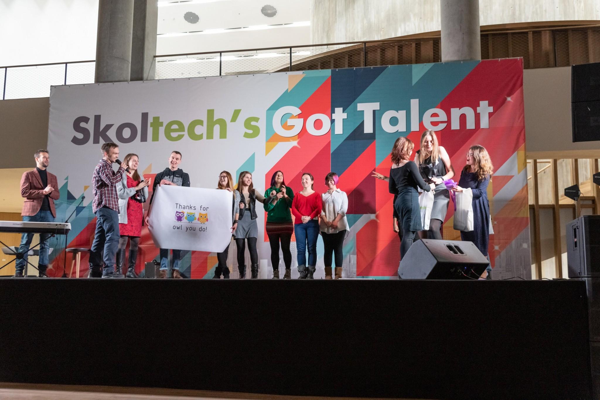 Image: the participants