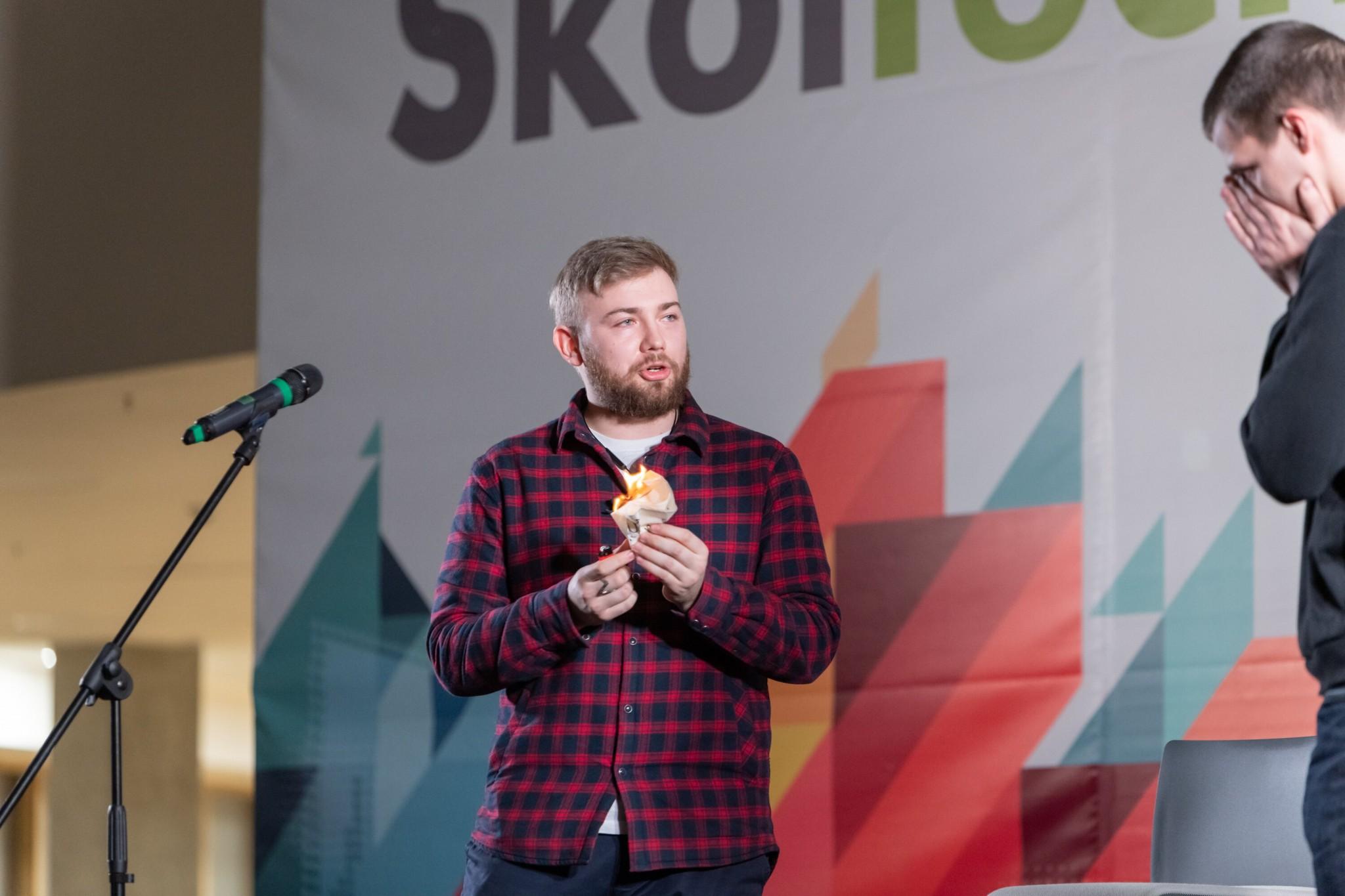 Image: Vladislav Panov (Magician), third place winner