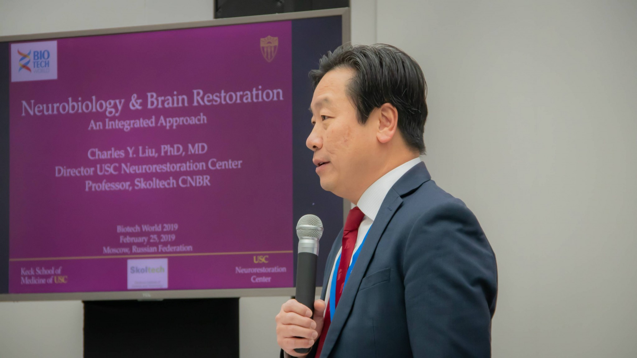 Image: Charles Liu (Director of USC Neuro-restoration Center)