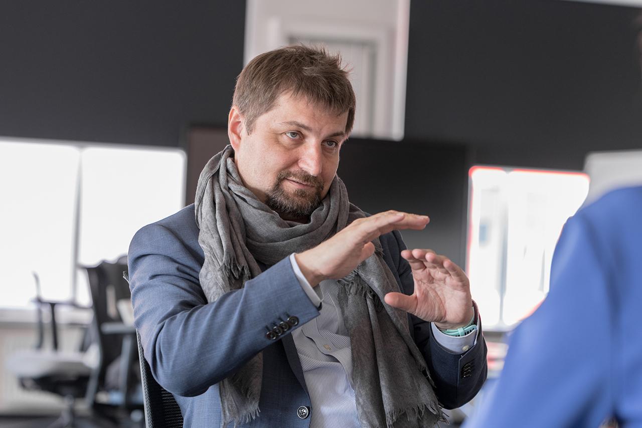 Антон Иванов, руководитель Космического центра Сколтеха