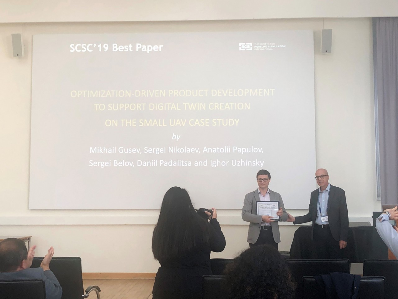 Skoltech | Skoltech scientists win SCSC 2019 Best Paper