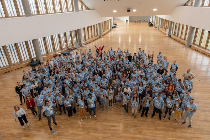 Участники Летней школы машинного обучения в Bantik Hall