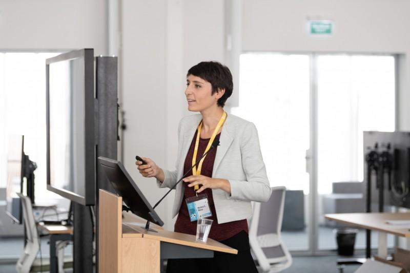 Микелла Шарлотта Масси (Michela Carlotta Massi), аспирантка Политехнического института Милана
