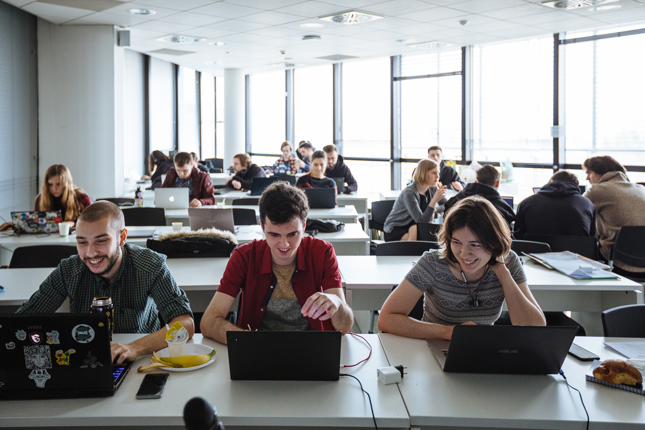 Working atmosphere, at University of the Republic of San Marino