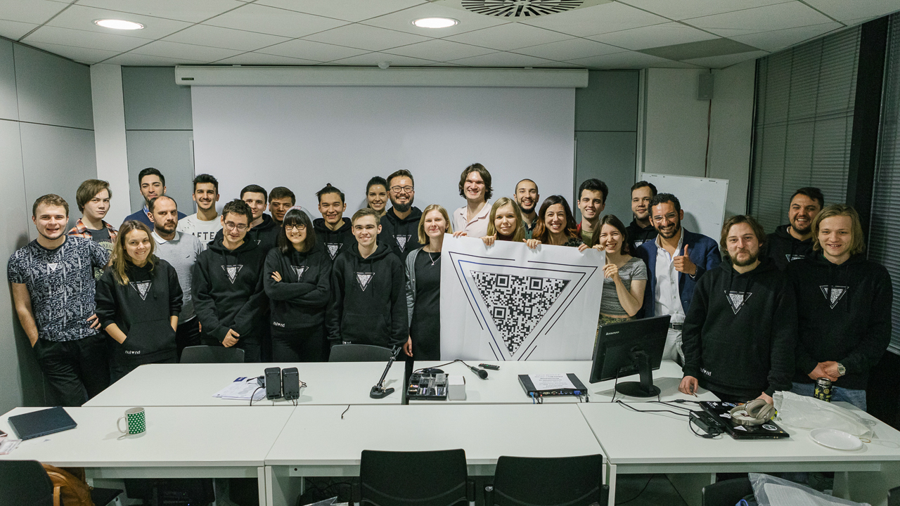 Successfully completed – Skoltech students and Nuland team after the final presentations