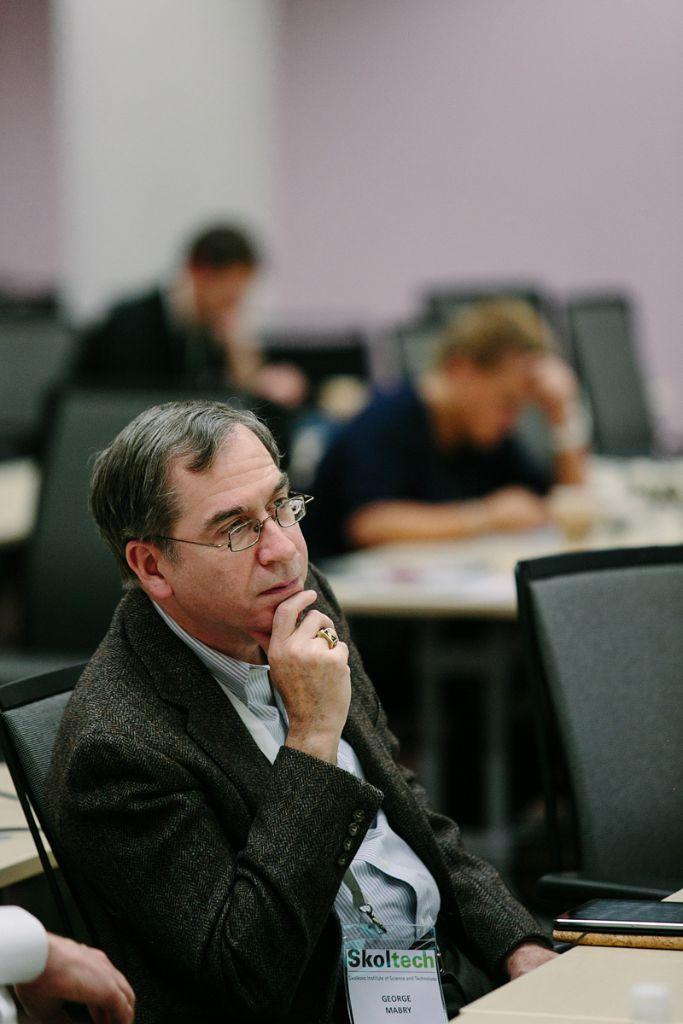Джордж Марби, каталист Программы инноваций Сколтеха